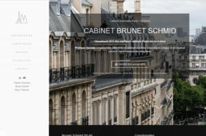 capture d'écran réalisation avocats Brunet Schmid
