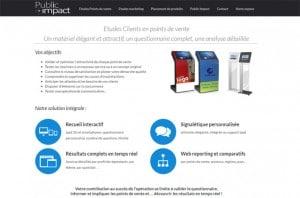 capture d'écran réalisation public-impact.fr