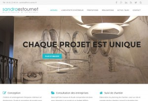 capture écran réalisation sandra-estournet.fr