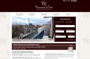 capture d'écran réalisation site vincennesetvous.fr