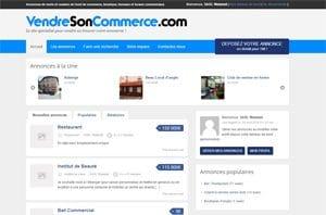 capture d'écran réalisation vendre son commerce